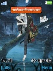 Natsume Yuujinchou es el tema de pantalla