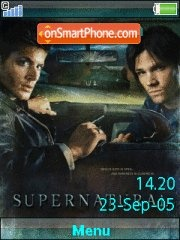 Supernatural 04 es el tema de pantalla