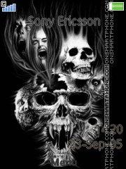 Black Skull 01 es el tema de pantalla