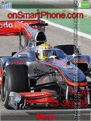 Lewis Hamilton 2010 es el tema de pantalla