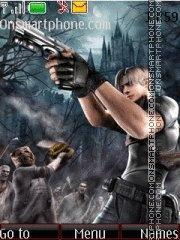 Resident Evil 4 04 theme screenshot