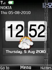 Htc Sonyericsson theme screenshot