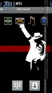 Legend Michael theme screenshot