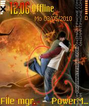 Love In Autumn theme screenshot