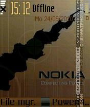 Nokia 7232 es el tema de pantalla