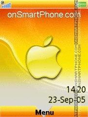 Apple Citrus es el tema de pantalla