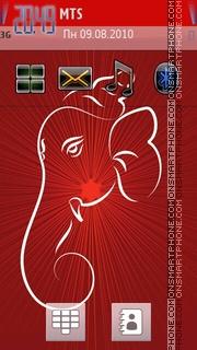 Lord Ganesha 02 es el tema de pantalla