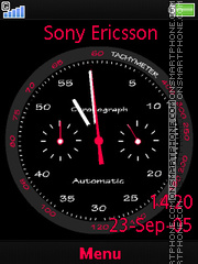 Clock Flash es el tema de pantalla