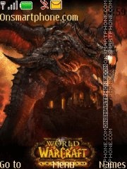 World of Warcraft Cataclysm theme screenshot