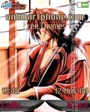 Rurouni Kenshin es el tema de pantalla