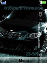 Bmw M5 12 theme screenshot