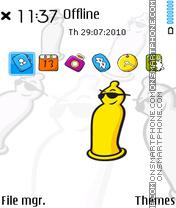 Jissbon fp1 theme screenshot