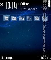Space 15 es el tema de pantalla