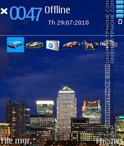 London 2014 theme screenshot
