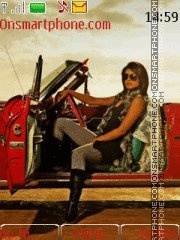 Anjana Anjani theme screenshot