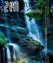 Waterfall es el tema de pantalla