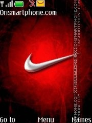Capture d'écran Nike thème