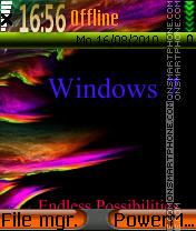 Window 7 theme screenshot