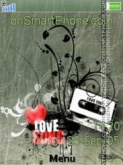 Love Song es el tema de pantalla