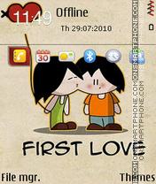 First Love fp1 es el tema de pantalla