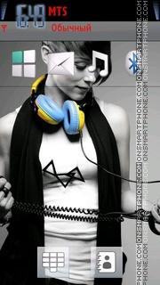Dj Girl 03 es el tema de pantalla