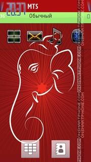 Ganesha 01 es el tema de pantalla