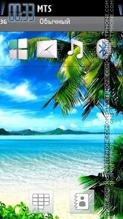 Beach 35 theme screenshot