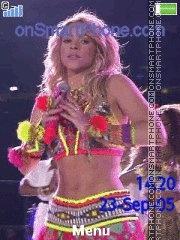 Shakira waka waka es el tema de pantalla