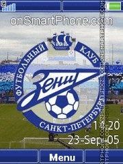 FC Zenit C902 es el tema de pantalla