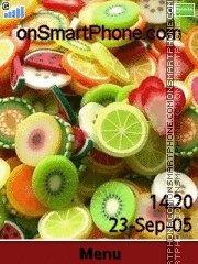 Fruits 06 es el tema de pantalla