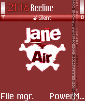 Jane Air 01 es el tema de pantalla