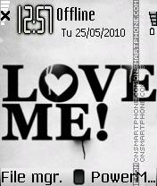 Love Me 04 theme screenshot