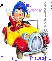 Noddy theme screenshot
