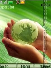 Green Planet theme screenshot
