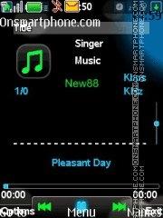 Xpress Music Player 01 es el tema de pantalla