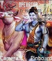 Shiv Bhole theme screenshot