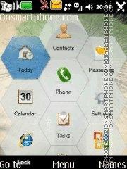 Capture d'écran Touchscreen Menu thème