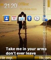 Dont leave 01 es el tema de pantalla