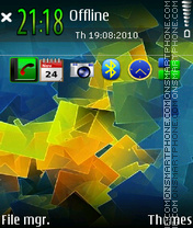 Colorful 06 tema screenshot