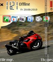 Red Bike 01 es el tema de pantalla
