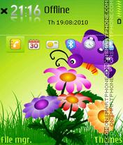 Butterfly 19 es el tema de pantalla