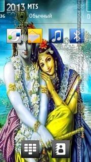 Lord Krishna 04 es el tema de pantalla