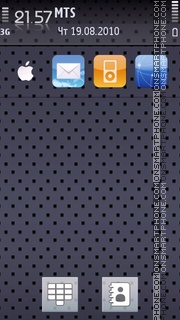 Iphone Lush theme screenshot