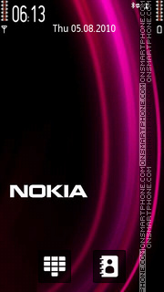 Nokia Pink 03 theme screenshot