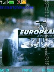 F1 theme screenshot