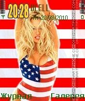 Pamela Anderson es el tema de pantalla