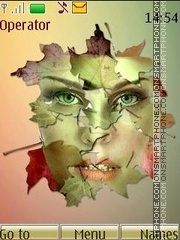 Autumn art theme screenshot