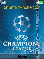 UEFA Champions League es el tema de pantalla