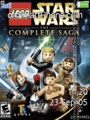 Lego star wars es el tema de pantalla
