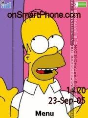 Homer es el tema de pantalla